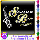 Sax Alto Babe With Attitude - Custom Music T Shirt 5yrs - 6XL by MusicaliTee