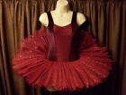 Stunning Feathered Edge Sparkle Mesh Velvet Bodice Tutu All Sizes