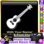 Ukulele Picture With Your Words - Sheet Music & Accessories Bag by MusicaliTee