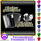 Accordion Play For A Pint - Personalised Music T Shirt 5yrs-6XL MusicaliTee 2