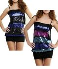 STUNNING & GLAMOROUS SEQUIN PARTY TUNIC TOP DRESS SIZE 8-18 BNWT