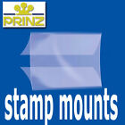 Prinz Stamp Mounts Strips Cut to Size Gard back opening clear backed - per 25