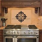Scroll Embellishments Vinyl Decal Wall Stickers Room Decor Oven Backsplash