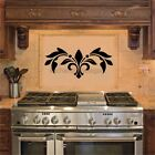 Embellishment Vinyl Decal Wall Sticker Room Kitchen Decor Oven Backsplash Scroll