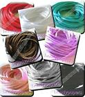 10 m Pretty Silky Cord Rat Tail 2 mm 8 Colours Kumihimo Trimmings