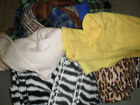 ASSORTED FLEECE, FABRIC, MATERIAL,  OFF/CUTS, ART CRAFT, DOG, CAT, TOYS, TUGS