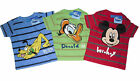 BOYS T-SHIRT/TOP DISNEY MICKEY MOUSE/DONALD/PLUTO AGE 2 3 4 5 6 7 8 9 & 10 YRS