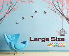 """Wall Decor Decal Sticker Mural BIG tree spring leaves 2 LARGE SIZE 51"""" x 55"""""""
