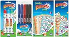 BINGO GAME PADS 480 TICKETS JUMBO BOOKS, MARKER PENS & DABBERS CHOOSE PRODUCT