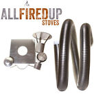 "Multifuel Flexible Flue Liner Installation Kit 2 For Wood Burning Stove 6"" To 6"""