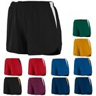 11 COLORS! LADIES MOISTURE WICKING, TWO TONE SHORTs w/ INNER BRIEF, XS M L XL 2X