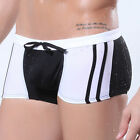 Sexy Men's Swimwear Trunk Boxers Briefs 3 Size S~L 6Colors Polyester&Spandex