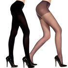 Sexy Sheer Support Control Top Pantyhose Nylon/Spandex Footed Leggings Tights