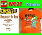 LEGO wear T-Shirt Power Miners Monsters of  Rock orange Power Miners