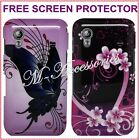 STYLISH PRINTED HARD CLIP ON BACK CASE COVER SKIN FOR DIFFERENT MOBILE PHONES