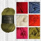 SIRDAR FLIRT DK KNITTING YARN - 50G - BAMBOO MIX - Various Shade Options