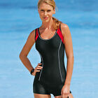One Piece Jumpsuit Swimsuit Black Blue 0 2 4 6 8 10 12 14W 16W 18W 20W 22W 24W
