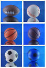 MINI FOAM BALL CAKE TOPPERS FOOTBALL, BASEBALL, BASKETBALL & SOCCER YOU PICK ONE