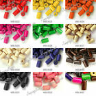 TOP Wooden Wood Beads about 225-450 Pcs 8x5mm Tube 12 Colors to choose FAST SHIP
