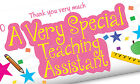 TEACHING ASSISTANT TEACHER'S GIFT CHOCOLATE BAR WRAPPER PRESENT VERY SPECIAL