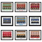 PERSONALISED FOOTBALL SHIRT TEAM SIGNED PHOTO PRINT Fan Birthday gift idea