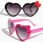 New Womens Heart shape Bowtie Sunglasses Vintage Retros Celebrity Summer love