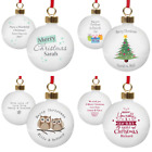 PERSONALISED TEACHERS CHRISTMAS BAUBLES END OF TERM THANK YOU PRESENT GIFT IDEA