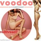 Voodoo New Sexy Glow Waist Sheer Stockings Pantyhose Nude Size Ave Tall Xtall