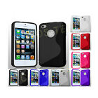 GRIP S-LINE WAVE SILICONE GEL CASE FITS APPLE IPHONE 5