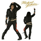 FANCY DRESS COSTUME # MENS MICHAEL JACKSON BAD + FREE WIG rrp  £142.80 FDDD