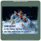 "The Mountain Life ""Confidence"" Rafting T-Shirt Green Multiple Sizes NEW Cotton"