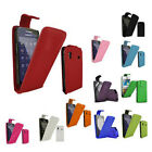 LEATHER FLIP CASE COVER FOR SAMSUNG GALAXY ACE S5830 FREE P&P