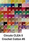 Circulo CLEA5 150g 750m Crochet Cotton Knitting Thread Yarn #5 Chart 1 of 3