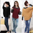 New Outerwear Tunic Caftan Shirt Knitsweater Cuffs Casual Dots Collar Top Blouse