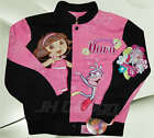 Dora The Explorer Totally Dora Girl's Cotton Twill Jacket Black/Pink Retail $120