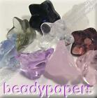 10 - 40 Glass Beads Drop Flower Bell 14mm x 9mm 6 Colours U Choose