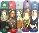 Kings & Queens Bookmarks British Monarchs Henry VIII, Mary, Victoria Elizabeth I
