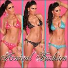 NEW SEXY PRINT BIKINI SET + BEACH WRAP hot SWIMWEAR FOR LADIES SWIMSUITS BIKINIS