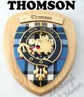 THOMSON CLAN CREST WALL PLAQUE PLAQUES AVAILABLE IN ANY CLAN NAME