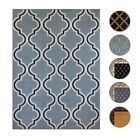 Trellis Moroccan Tile Area Rug or Floral Lattice Modern Carpet -All Sizes Colors