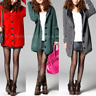 New Ladies Hooded Winter Warm Faux Fur Thermal Lined Cardigan Coat Size 8- 14