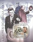 Mozambique 2011 Stamp, MOZ11310B Leaders of XX Century I, Famous Poeple
