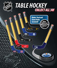 2 NEW NHL TABLE HOCKEY MINI PUCKS & BLADES OFFICIALLY LICENSED WITH GAME RULES