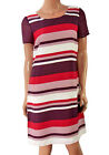 NEXT Striped Scoop Neck Shift Dress. RRP: £28. Sizes 8-22