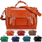 Womens Ladies Vintage Designer Leather Style Satchel Tote Shoulder Crossbody Bag