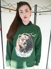 Wildlife Bear Jumper, Bear Sweatshirt, Bear Sweater, Bears, Animals, Unisex, New