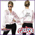 Licenced Grease Pink Lady Ladies 1970's TV Film 70s Jacket + Scarf Set