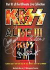 KISS Alive III SIGNED Autographed PHOTO Print POSTER Destroyer Shirt CD 005