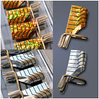 10pcs Reuseable Nail Art Tips Extension Guide Forms UV Gel Acrylic