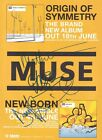 MUSE Origin Of Symmetry SIGNED Autographed PHOTO Print POSTER Tickets CD 017